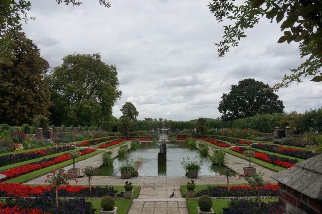 Gardens near Kensington Palace