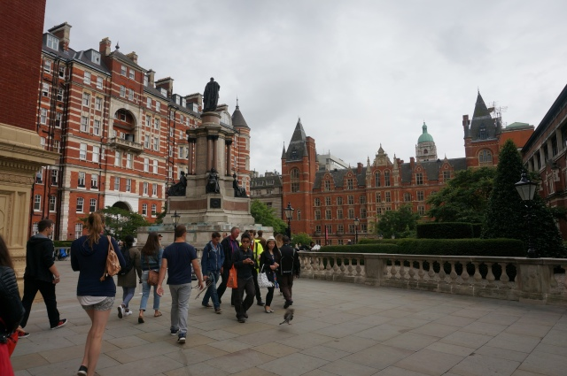 My classmates on tour near Albert-opolis and some beautiful apartments!