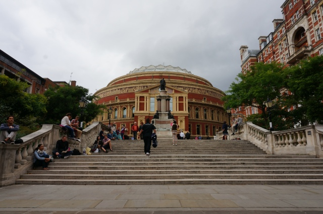The Royal Albert Hall which is hosting Proms this year (a classical music concert series).