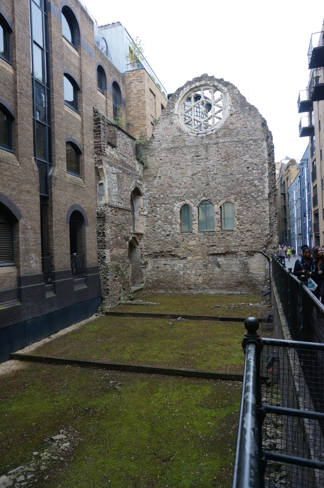 Ruins of the Winchester Palace.