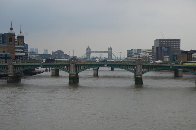Tower Bridge from the Millennium Bridge.