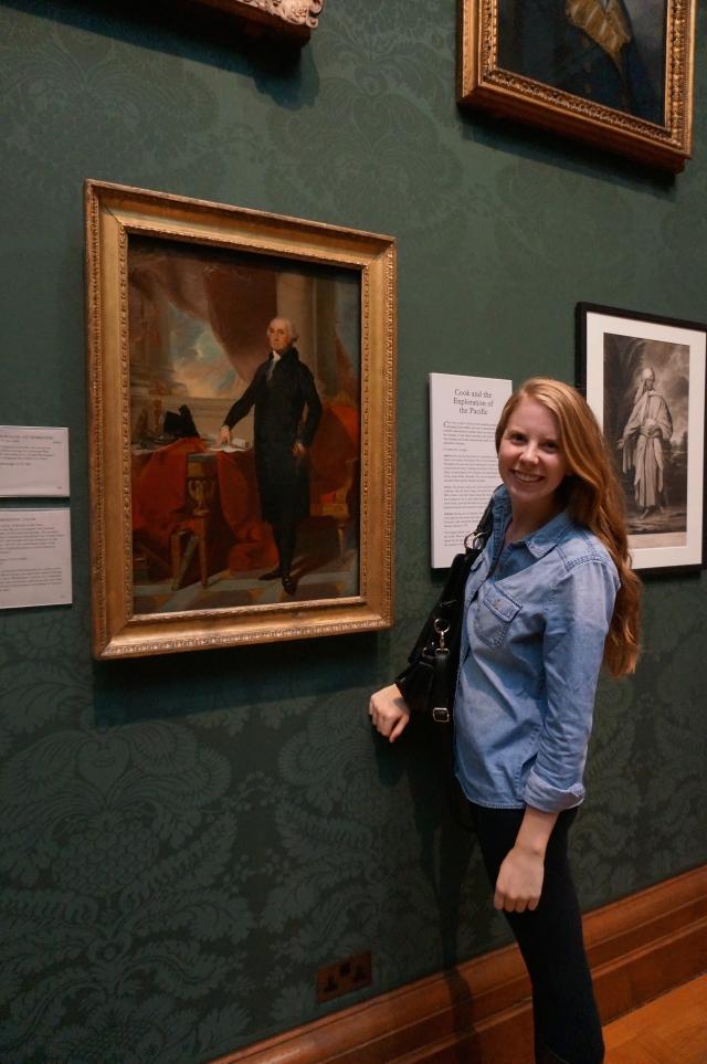 Me and George Washington