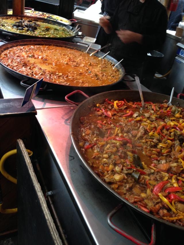 Paella, curry, etc