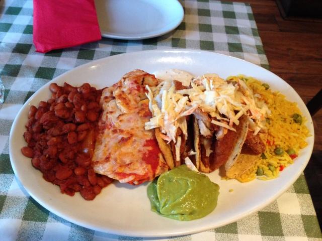 Great Mexican food at Guaca.