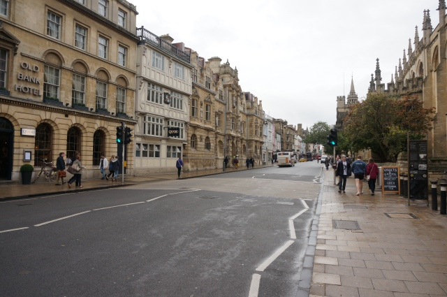 Streets in Oxford