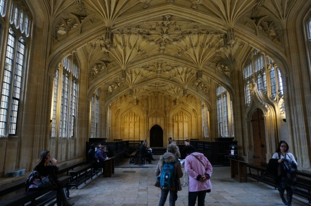 "The Divinity School aka the hospital wing in ""Harry Potter."""