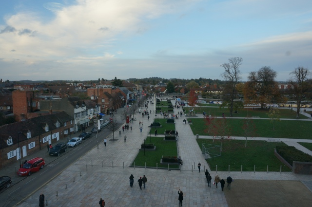 View of Stratford from the RSC