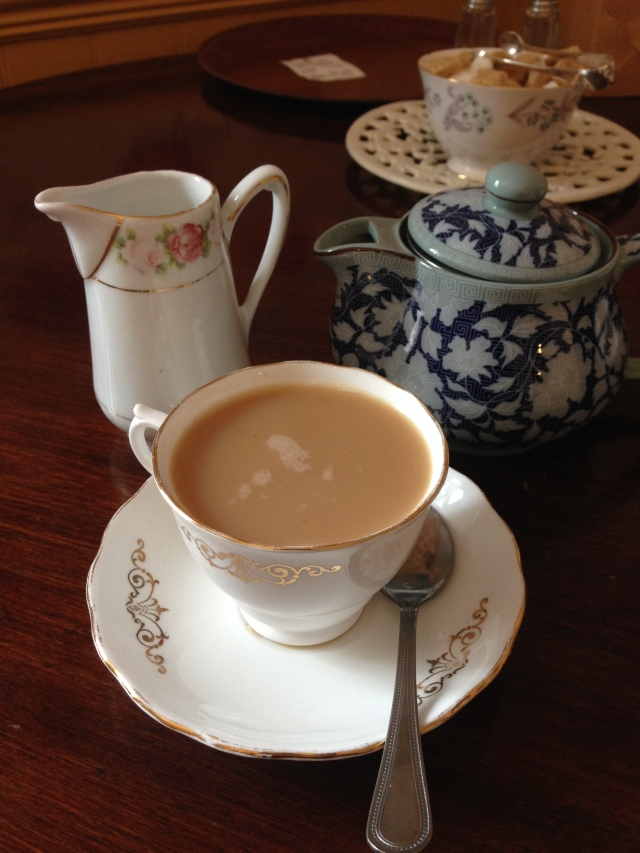 Tea I had while in Dover.