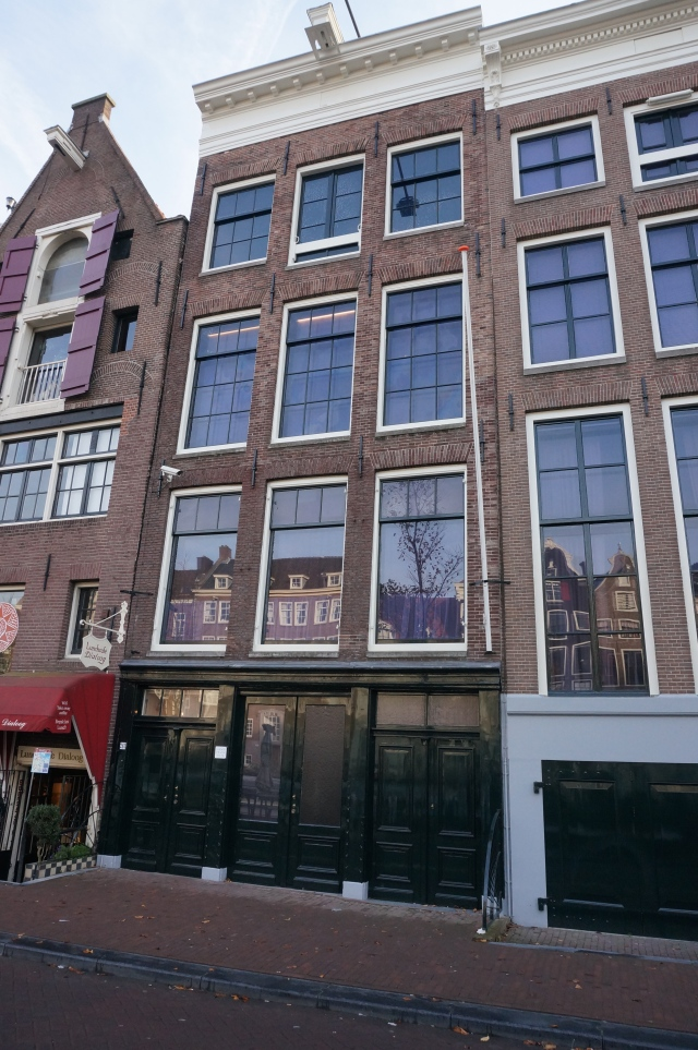 The Anne Frank house- a must see if you're in the area.