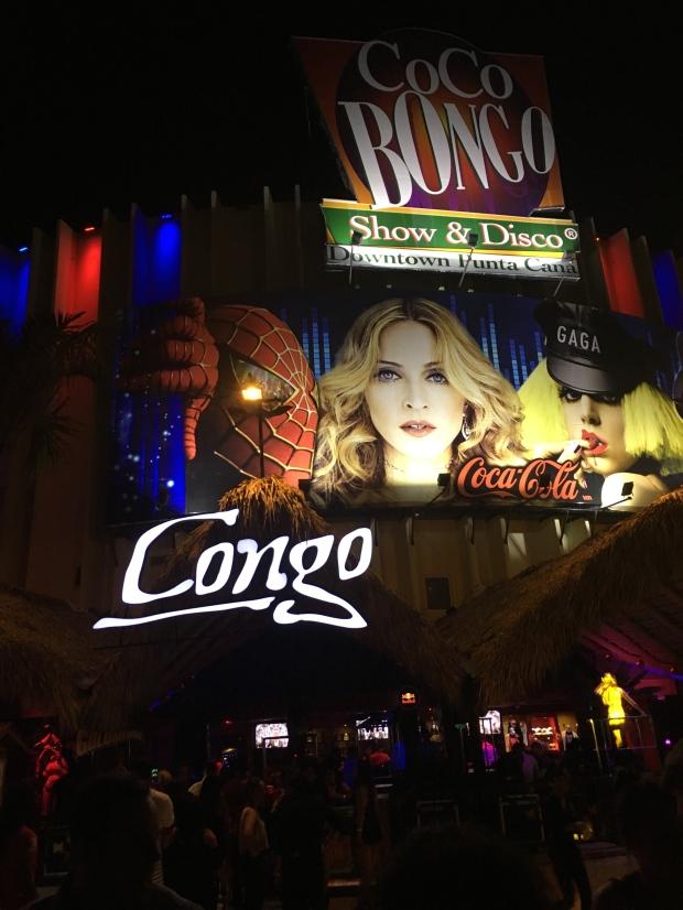 Coco Bongo- a must go.